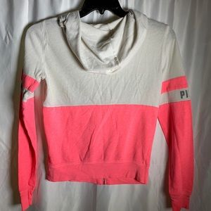 Pink by Victoria's Secret hoodie size Xs
